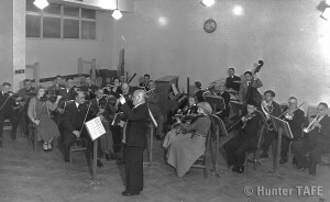 Newcastle Technical College Orchestra 1953