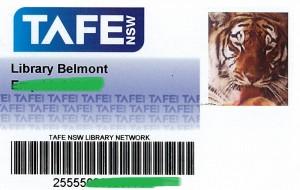 TAFEcard example