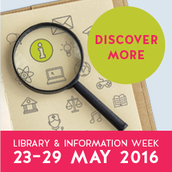 Libary and Info Week Avatar