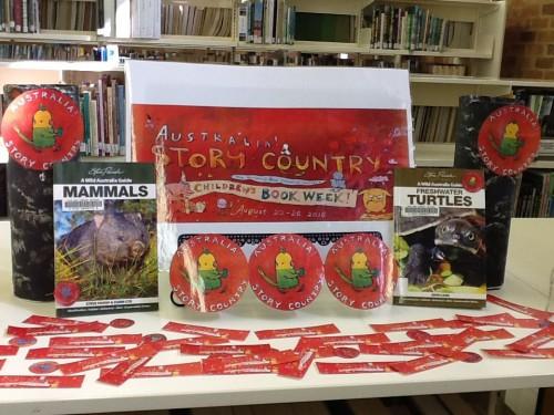 Book Week Display at Kurri Kurri Campus Library