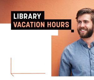 Check library vacation hours: http://huntertafe.libguides.com/hours