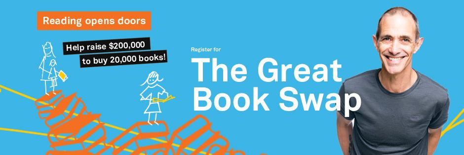 Donate to the Great Book Swap