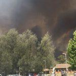 Bushfires at Kurri Kurri TAFE
