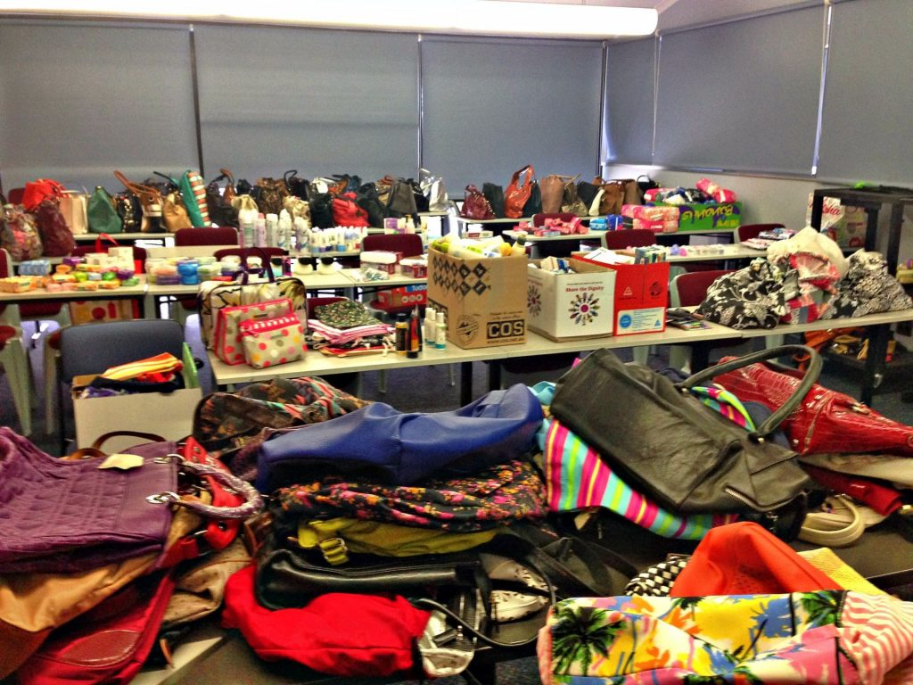 It's in the bag collection at Hamilton Campus