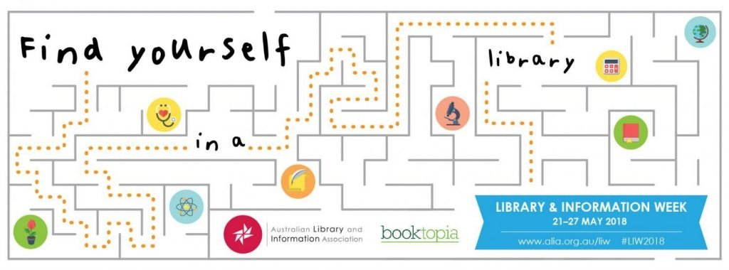 Find yourself in a library