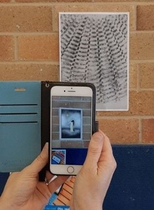 Gosford open day Augmented Reality