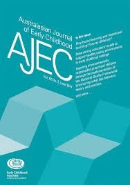 Australasian journal of early childhood