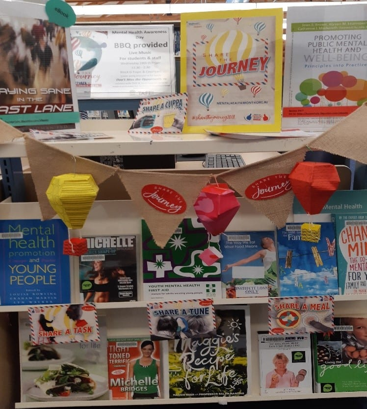 Display at Gosford Library